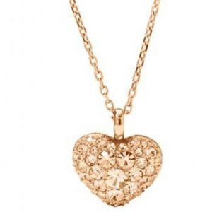 ✨NWT✨ Fossil Rose Gold Heart Necklace